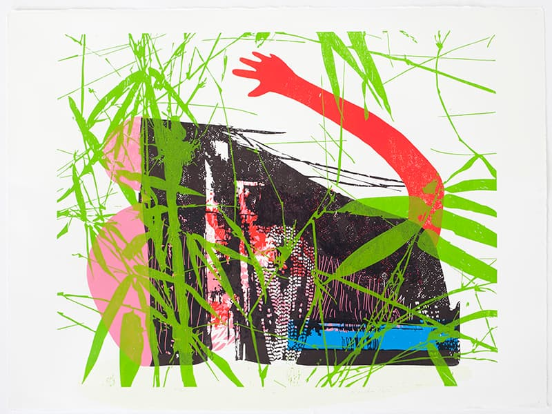 Eva | Linocut | 2017 | Kristi Neider | Printmaking