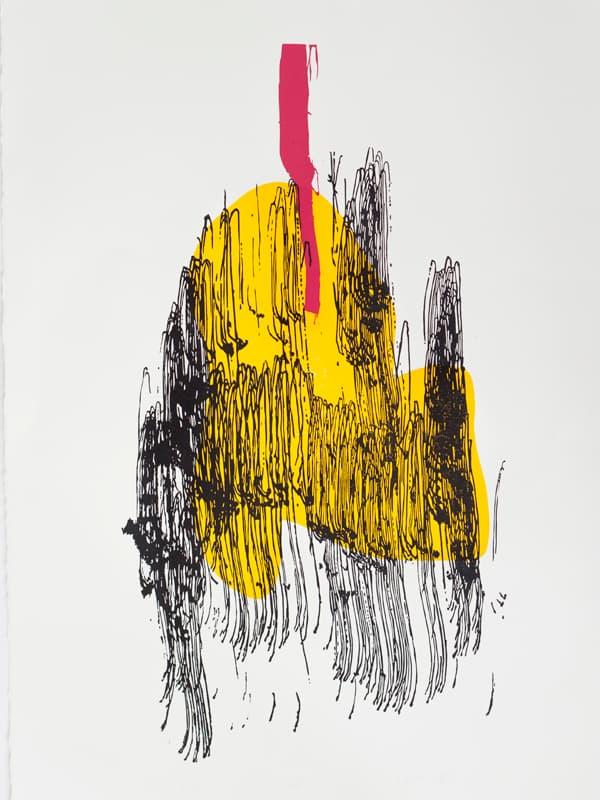 Splinter | Linocut | 2013 | Kristi Neider | Printmaking