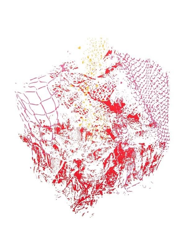 Het Hart | Linocut | 2013 | Kristi Neider | Prints