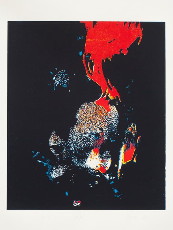 Ego | Linocut | 2013 | Kristi Neider | Print