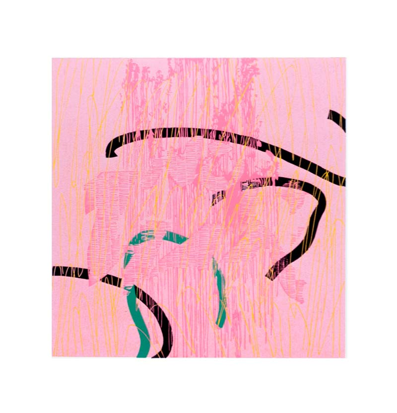 NW | Linocut | 2018 | Kristi Neider | Printmaking