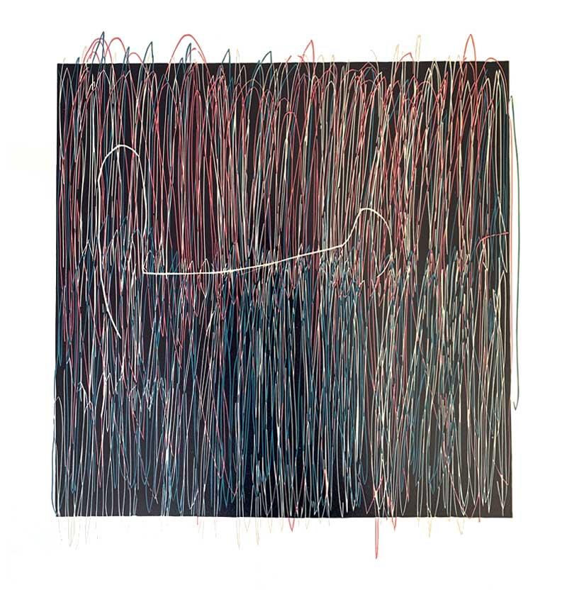 A Dream | Linocut | 2019 | Kristi Neider | Printmaking