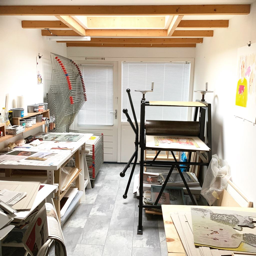 Kristi Neider | Studio | Printmaking