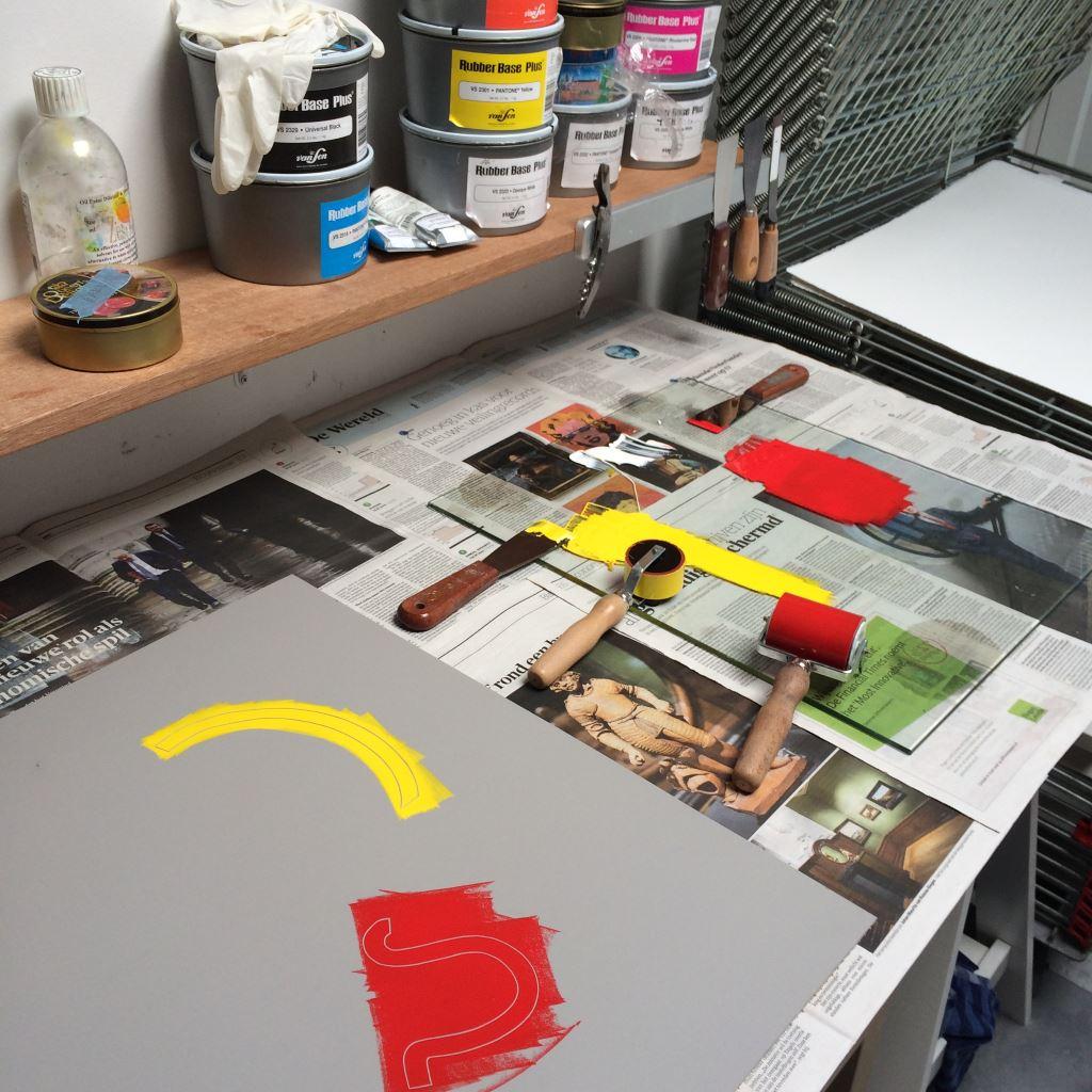 Kristi Neider | Studio | Printmaking Art
