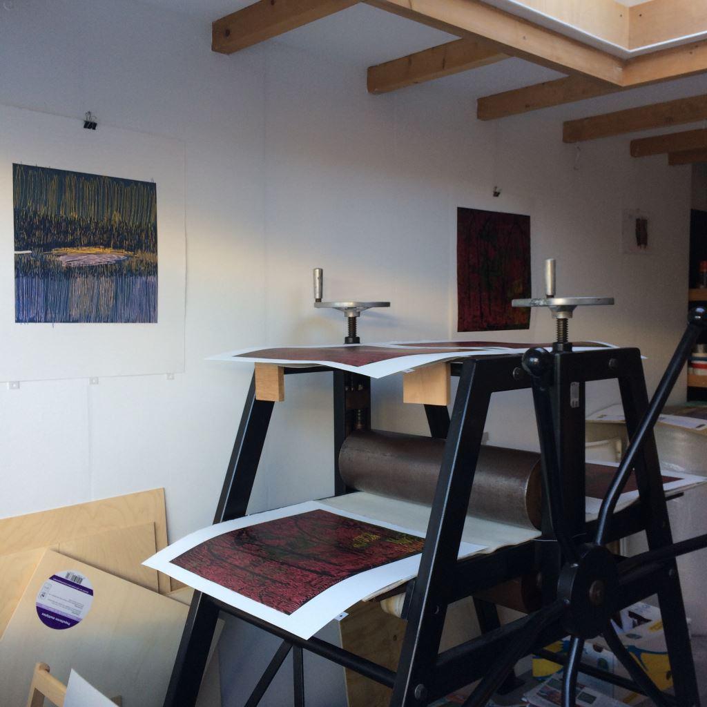 Kristi Neider | Studio | Linopress
