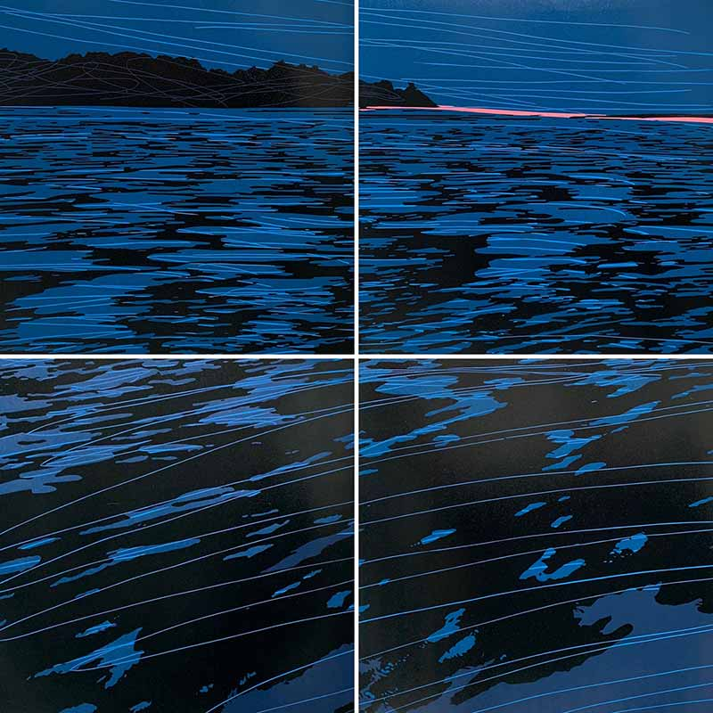 VRIJ | Linocut | 2019 | Kristi Neider | Printmaking