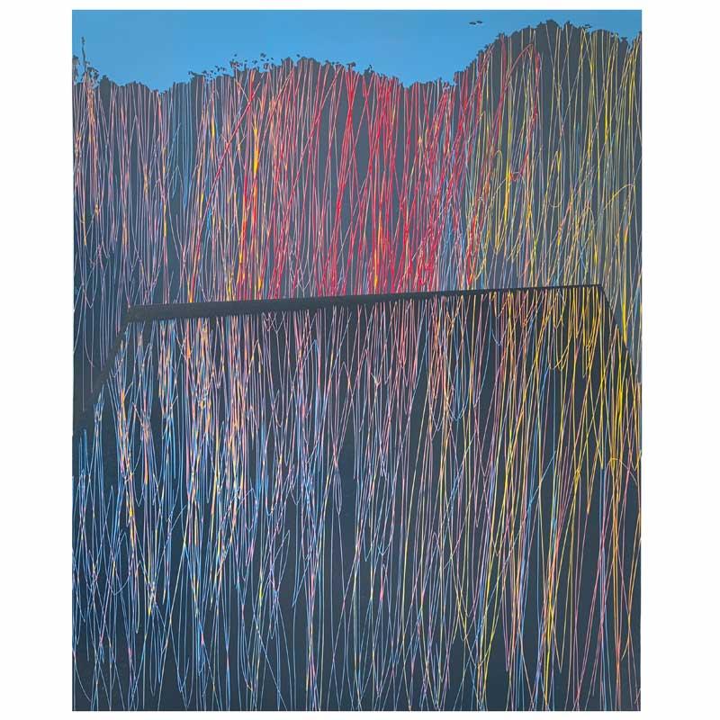 Horizon | Linocut | 2020 | Kristi Neider | Printmaking